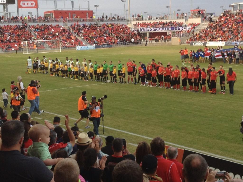Presentation of the Teams